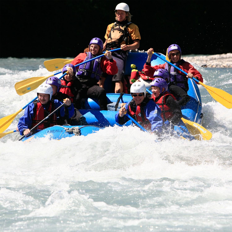 Rafting-Halbtagestour