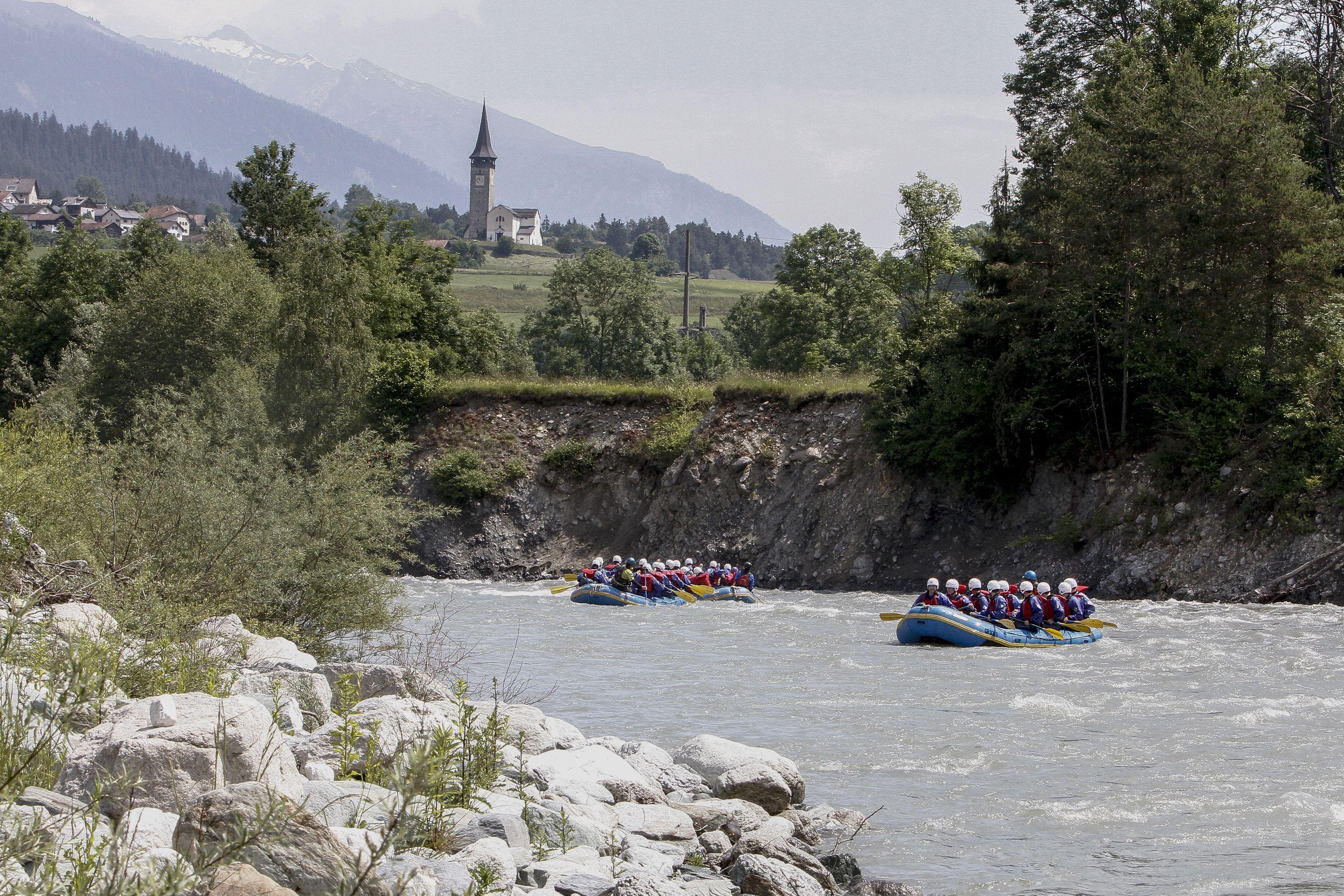 Rafting Vorderrhein