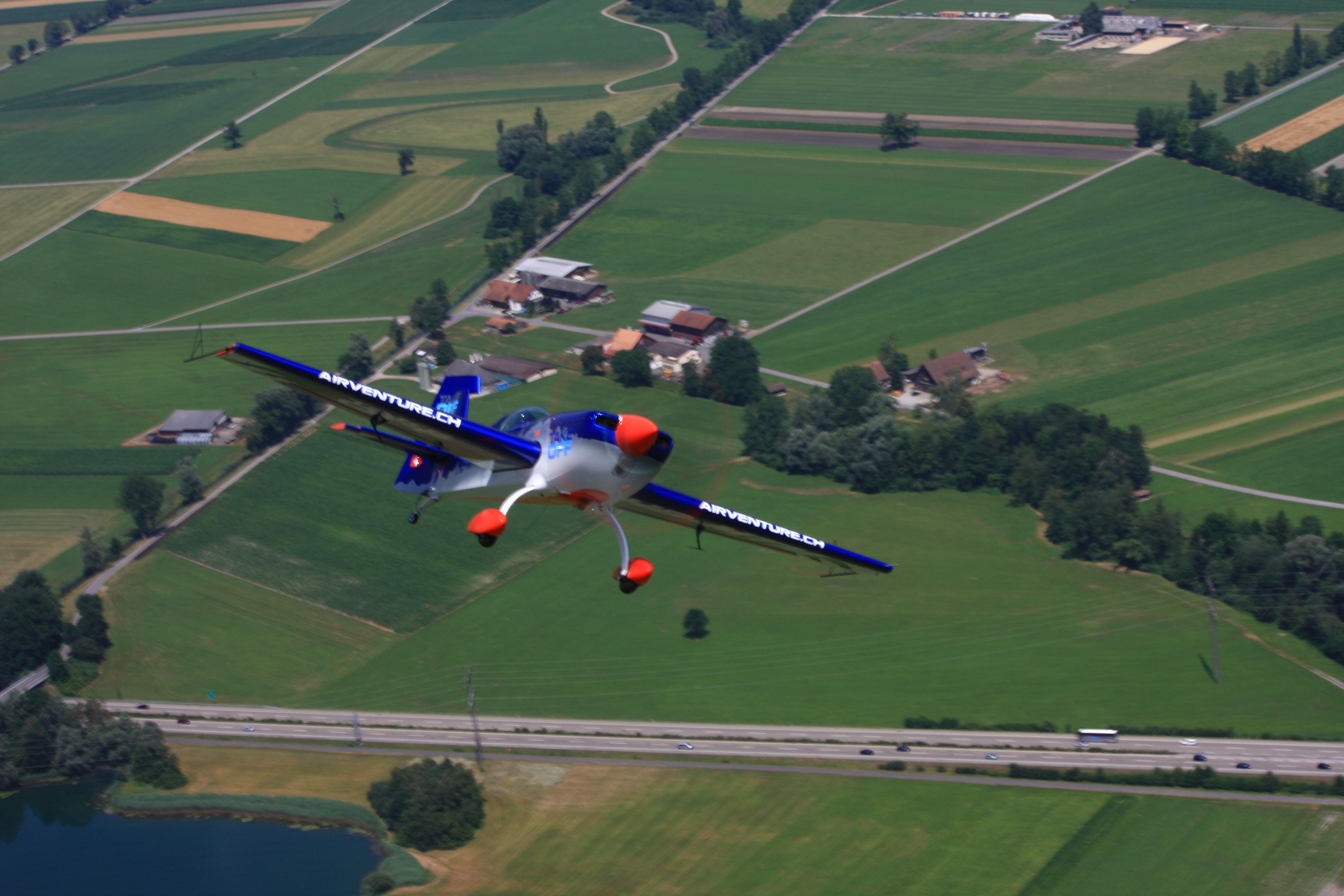 Expérience de vol acrobatique