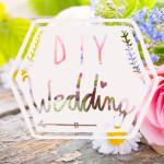 Hochzeit: Let's DIY!