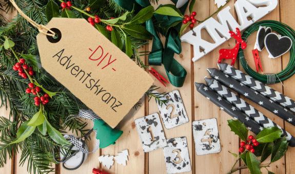 Der DIY-Adventskranz