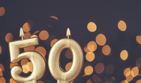 50. Geburtstag - alles Gute zum halben Jahrhundert