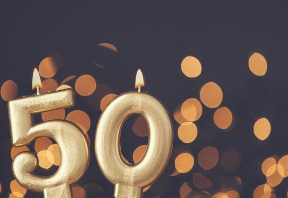 Spruch zum 50 en geburtstag
