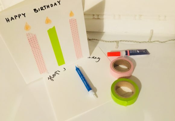 Geburtstagskarten Selber Machen Blog Geschenkidee Ch