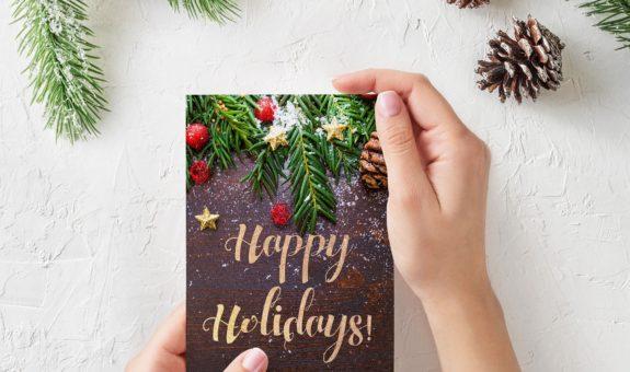 Sprüche für Weihnachtskarten