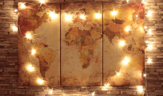 Lichterketten basteln & verschönern