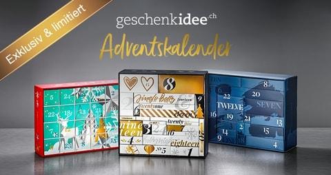 geschenkidee.ch Adventskalender