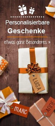 Geschenkideen mit individueller Personalisierung