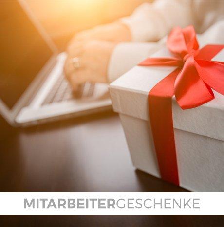 <p>Mitarbeitergeschenke -</p>  <p>clevere Geschenke für jeden Anlass.</p>