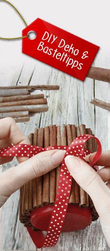 DIY-, Deko- und Basteltipps zu Weihnachten
