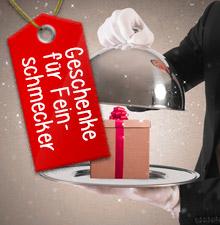 Weihnachtsgeschenke für Feinschmecker