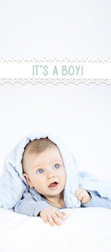 <p>It`s a boy -</p> <p>Geschenke zur Geburt eines Jungen</p>
