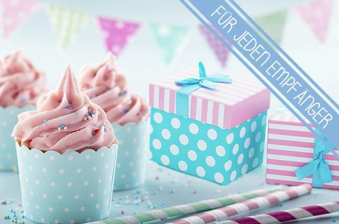 Geburtstagsgeschenke für jeden Empfänger