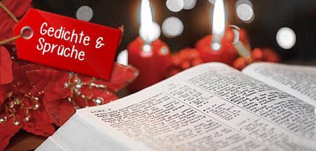 Gedichte & Sprüche für Weihnachten