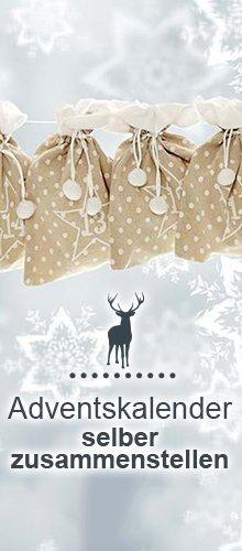 Der Geschenkidee Adventskalender zum selber befüllen