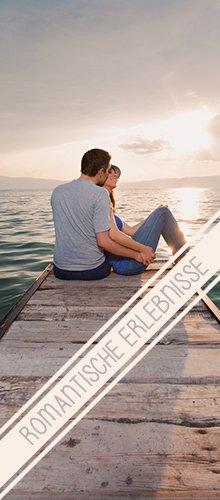 Tolle Geschenkidee: Romantische Erlebnisse zu Zweit
