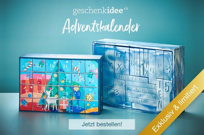 Die geschenkidee.ch Adventskalender - jetzt bestellen!