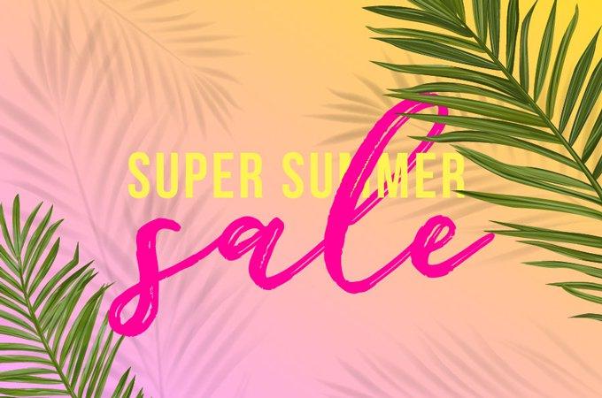 Super Summer Sale - jetzt coole Sommerprodukte zu heissen Preisen!
