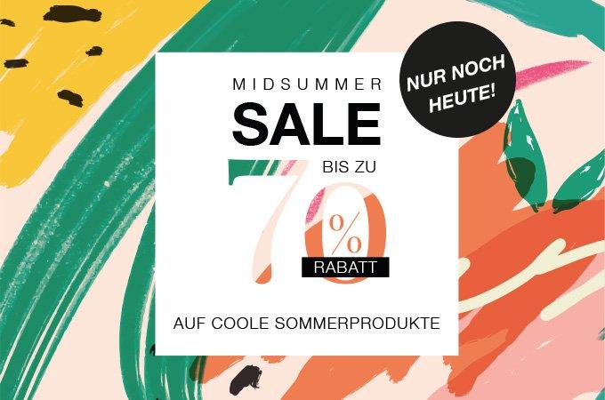 Midsummer Sale 2019 - nur noch heute profitieren!