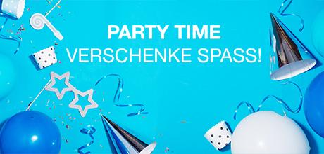 Spass verschenken - lustige Party- und Scherzartikel