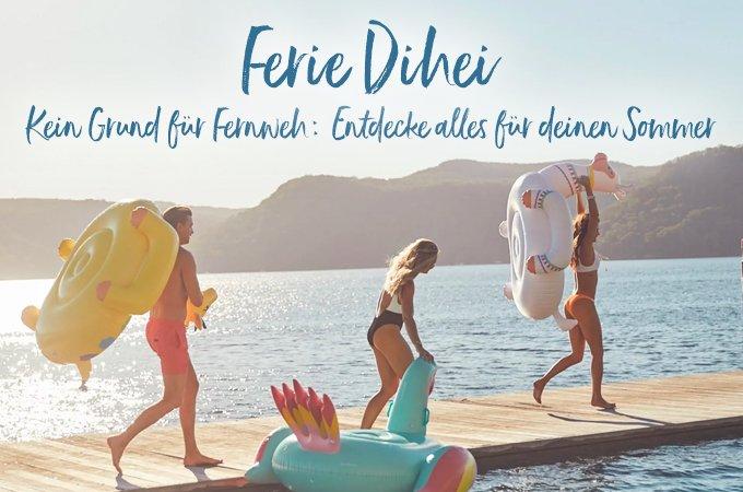 Ferie dihei - Kein grund für Fernweh: Entdecke alles für deinen Sommer