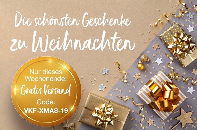 Die schönsten Weihnachtsgeschenke - dieses Wochenende mit gratis Versand!