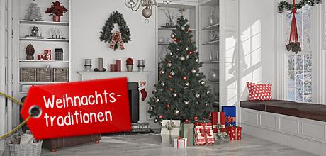 Lies etwas über die Tradition des Weihnachtsbaum