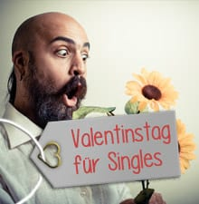 Valentinstag für Singles