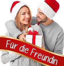 Weihnachtsgeschenke für die Freundin