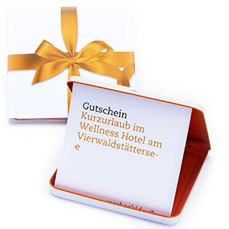 Gutscheinbox Erlebnisgeschenk