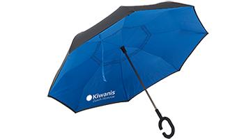 Kiwanis Club Zürich Manesse - personalisierter Regenschirm mit Logo